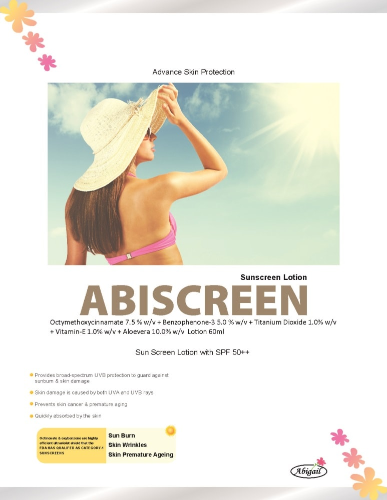 30-Abiscreen-Sunscreen-Lotion-Abigail-Care-Pharmaceutical-Best-Derma-Pharma-PCD-Franchise-Company